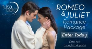 Fill out the form below and share our post on Facebook with your friends to be eligible to win 2 Tickets to Romeo & Juliet (Feb 12-14) and a $100 Gift Card to Tavolo (or any JTR Group Restaurant). Contest ends Fri Jan 29th Winner will be notified by email on Feb 1st.